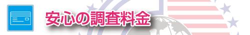 探偵・ガル武蔵小杉の安心調査料金